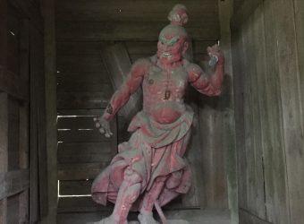 東浪見寺の仁王様(その2)。