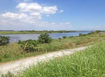 「木下河岸」(その3)。ここから市原市までの道を木下街道と言う。市原からは船で江戸へと続いた。