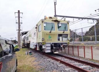 八積駅に常駐している作業車両(その1)