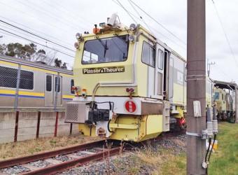 八積駅に常駐している作業車両(その4)