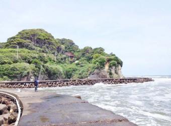 いすみ市の断崖絶壁(その1)