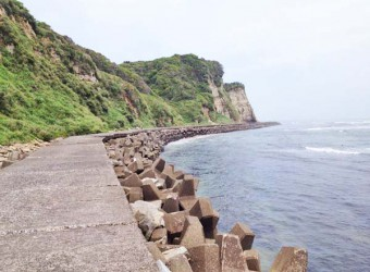 いすみ市の断崖絶壁(その2)
