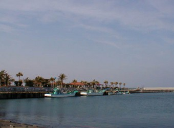 太東漁港。九十九里浜の南端に位置している。漁港なのに、何だかとてもお洒落!