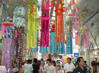 茂原といえば七夕祭り。「関東三大七夕祭り」の一つらしい。この時だけは人が多くなる。