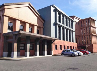御宿町役場(その3)。「ハイアットリージェンシー福岡」と「御宿町役場」が似ているという事実。