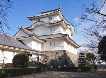 大多喜城の再現天守閣。昭和50年に千葉県立中央博物館大多喜城分館として建てられた。