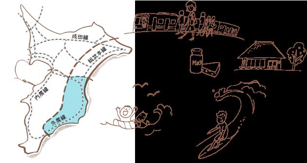 外房線MAP