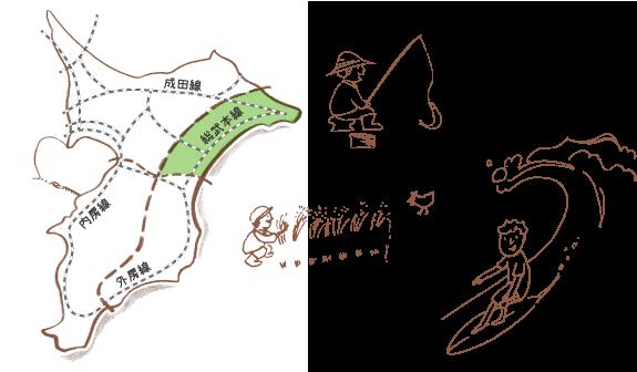 総武線沿線MAP